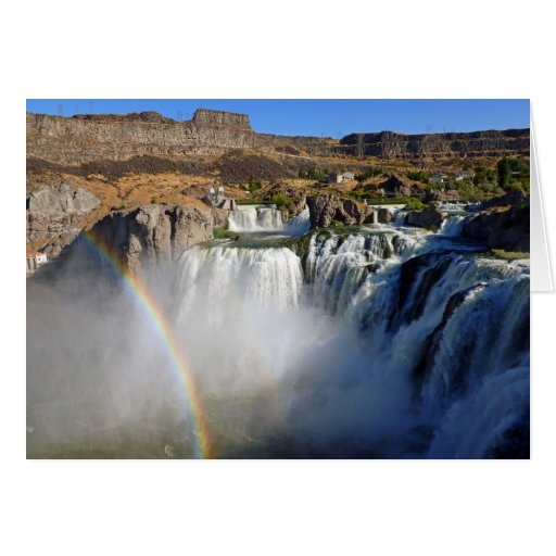 Shoshone Falls Greeting Card
