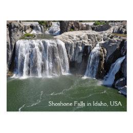 Shoshone Falls in Idaho USA Postcard