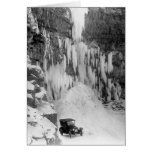 Shoshone Falls in Winter Stationery Note Card