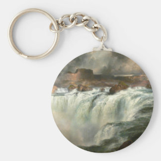 Shoshone Falls on the Snake River - 1900 Keychain