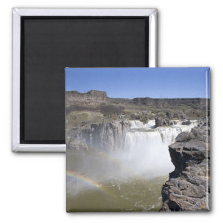 Shoshone Falls on the Snake River in Twin Falls, 2 Inch Square Magnet
