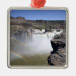 Shoshone Falls on the Snake River in Twin Falls, Metal Ornament