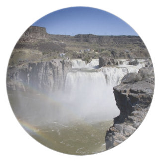 Shoshone Falls on the Snake River in Twin Falls, Party Plates