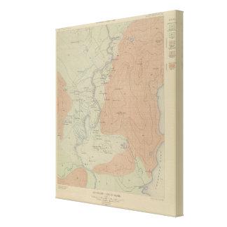 Shoshone Geyser Basin Canvas Print