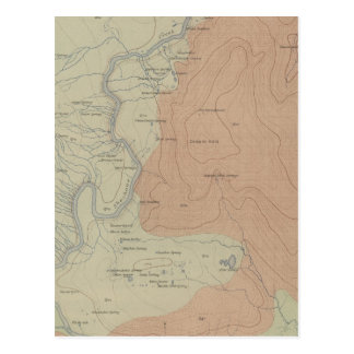 Shoshone Geyser Basin Postcard