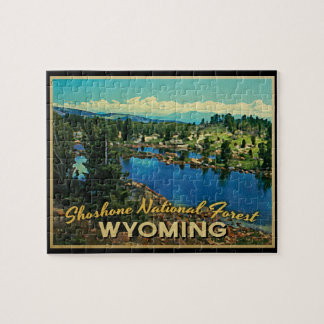 Shoshone National Forest Wyoming Jigsaw Puzzles