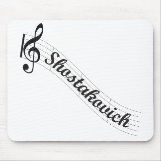 Shostakovich Classical Music Treble Mouse Pad
