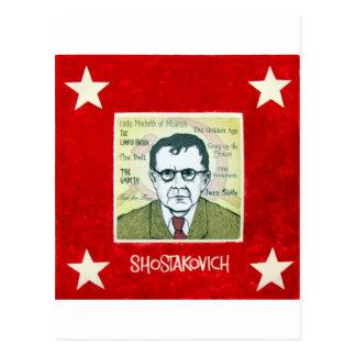 Shostakovich Postcard