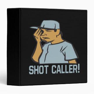 Shot Caller 3 Ring Binder
