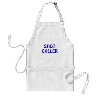 Shot Caller Adult Apron