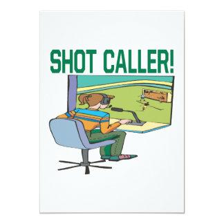 Shot Caller Card