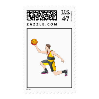 shot from knees postage stamp
