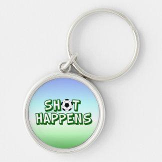Shot Happens Keychain