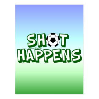 Shot Happens Post Cards