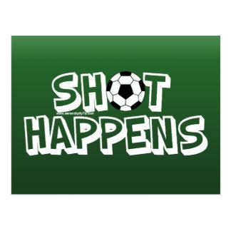Shot Happens Postcard