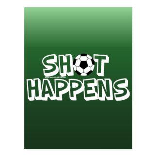 Shot Happens Post Card