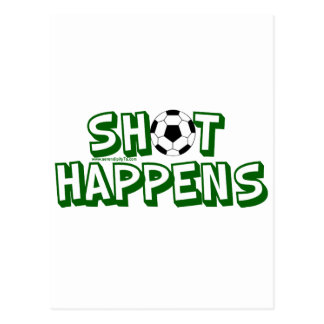Shot Happens Postcard