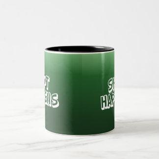 Shot Happens Two-Tone Coffee Mug