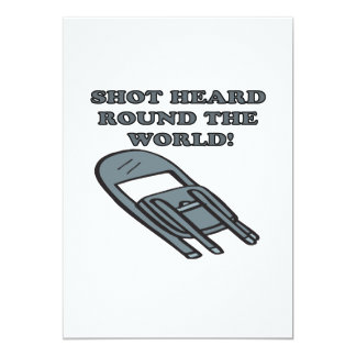 Shot Heard Round The World Card