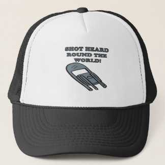Shot Heard Round The World Trucker Hat