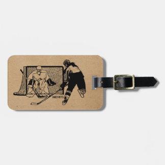 Shot On Net Hockey (female) Bag Tag