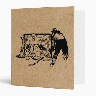 Shot On Net Hockey (female) Binder