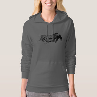 Shot On Net Hockey (female) Hoodie