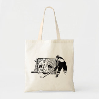Shot On Net Women's Hockey Tote Bag