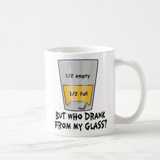 Shot Philosophy Classic White Coffee Mug