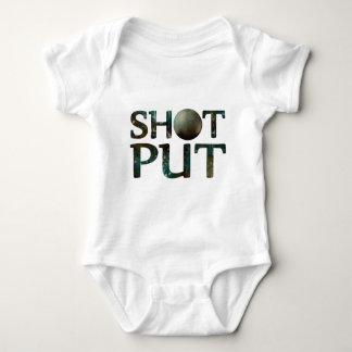 Shot Put Baby Bodysuit