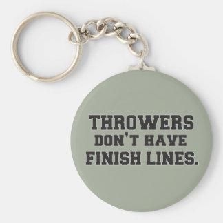 Shot Put Discus Hammer Javelin Throw Keychain