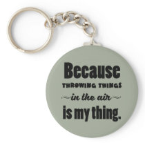 Shot Put Discus Javelin Hammer Throw Keychain
