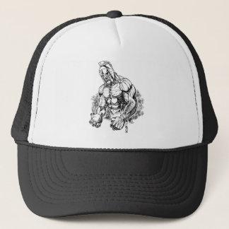 shot put gladiator trucker hat