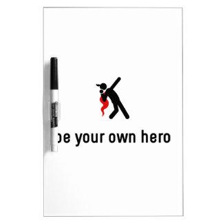 Shot Put Hero Dry Erase Board