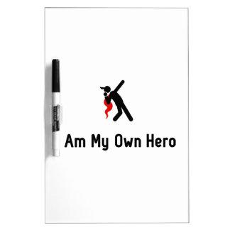 Shot Put Hero Dry-Erase Board