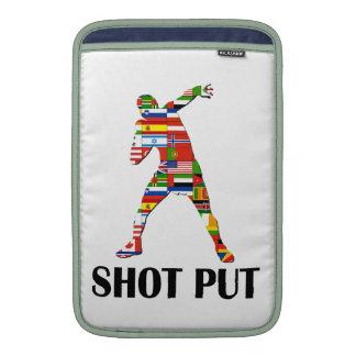 Shot Put MacBook Sleeves