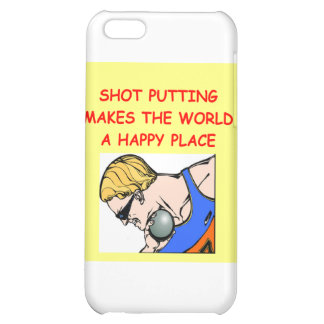 shot put puting putter iPhone 5C cover