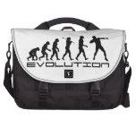 Shot Put Track and Field Sport Evolution Art Laptop Bags