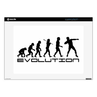 Shot Put Track and Field Sport Evolution Art Skin For Laptop
