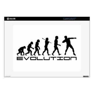 Shot Put Track and Field Sport Evolution Art Skin For Laptop