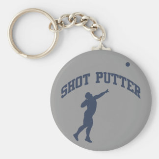 Shot Putter Keychain