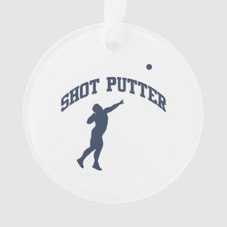 Shot Putter Ornament