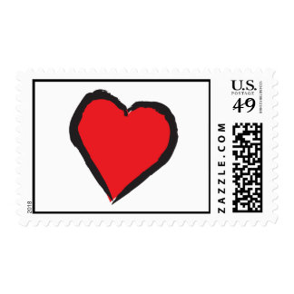 Shot Through the Heart Stamps