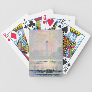 Shot Tower from Embankment 1880 Bicycle Playing Cards