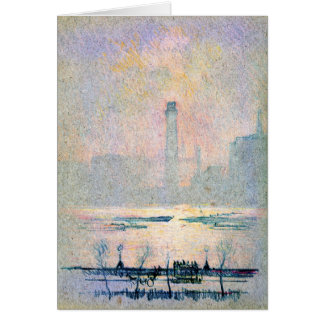 Shot Tower from Embankment 1880 Card