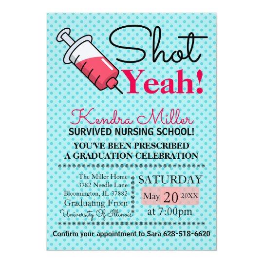 Nurse Practitioner Invitations Announcements Zazzle