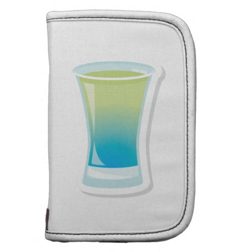 Shotglass azules de Curaçao Organizadores