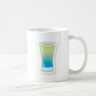 Shotglass azules de Curaçao Taza Clásica