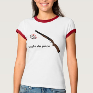 SHOTGUN, 2590841052_5ca5a6afcc, Keepin' da piece T-Shirt