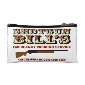 SHOTGUN BILL'S WEDDING COSMETICS BAGS